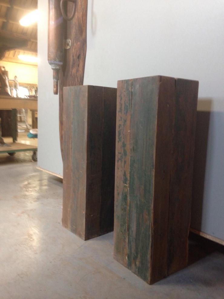 Projecten raber design for Houten decoratie
